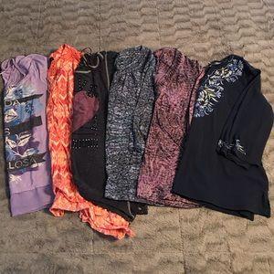 HUGE bundle of 1X shirts